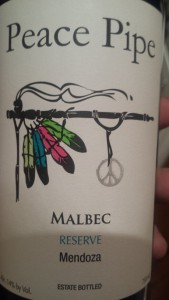 Peace Pipe Malbec