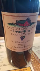 Baiting Hollow Farm Vineyard Cabernet Franc 2012