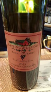 Baiting Hollow Farm Vineyard Cabernet Sauvignon 2012