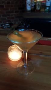 Loki Lounge dirty martini