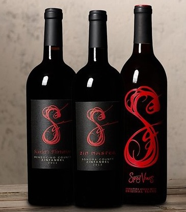 Spicy Vines Holiday Cheer Red Wine Mixed Pack 3 x 750 mL