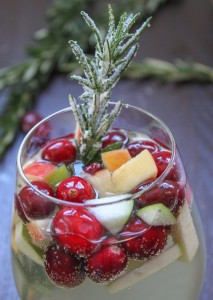 White Holiday Sangria original How to Make Holiday White Sangria