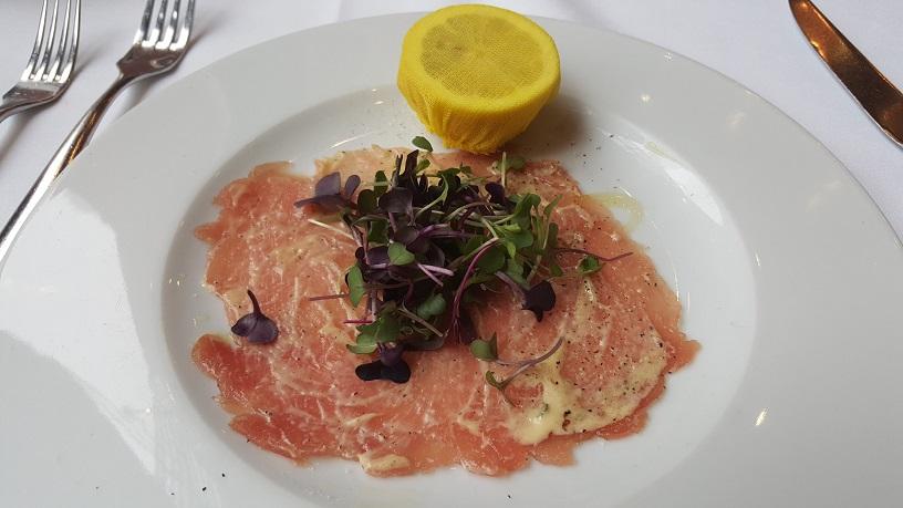 il mulino prime tuna carpaccio