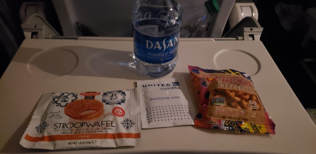 Untied Airlines COVID Snack Pack